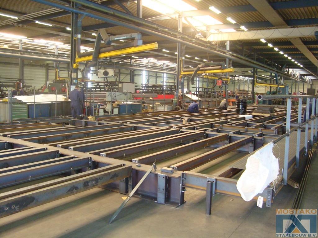 Groot bordes voor broodfabriek in Duitsland